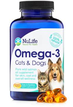 Pure Omega 3 Fish Oil for Cats