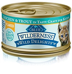 Blue Buffalo Wilderness Kitten Chicken Grain-Free Canned Cat Food