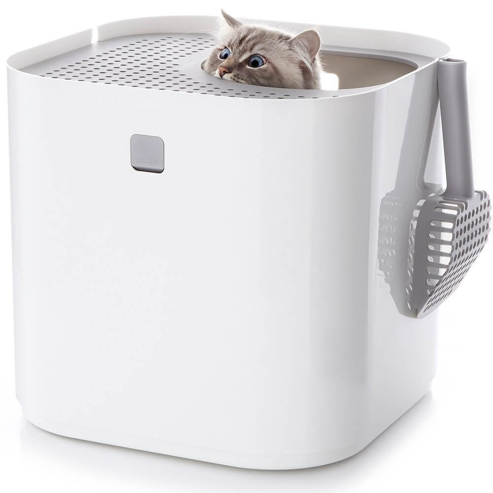 this litter box has made waves all around with its very interesting design and for it being a great product for cats