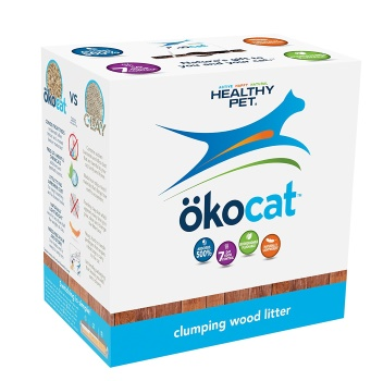 ökocat Natural Wood Cat Litter