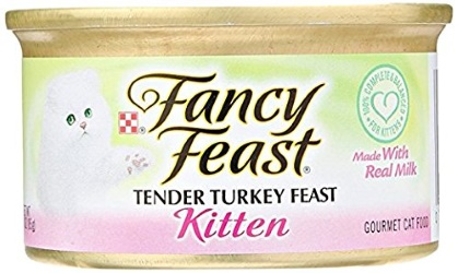 Fancy Feast Tender Turkey Feast Kitten Made With Real Milk