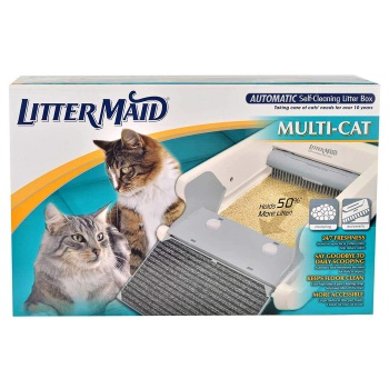 LitterMaid Mega Series Automatic Self-Cleaning Cat Litter Box