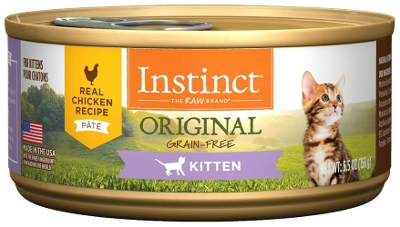 Instinct by Nature's Variety Kitten Grain-Free Real Chicken Recipe Natural Wet Canned Cat Food small