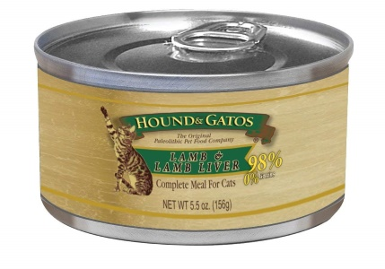 Hound & Gatos Lamb Formula Canned Cat Food