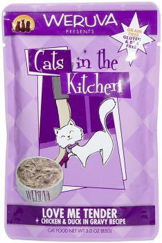 Weruva Cats in the Kitchen Love Me Tender Cat Food Pouches