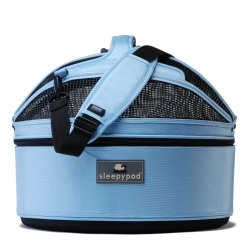 Sleepypod Mobile Pet Bed, Sky Blue, Medium