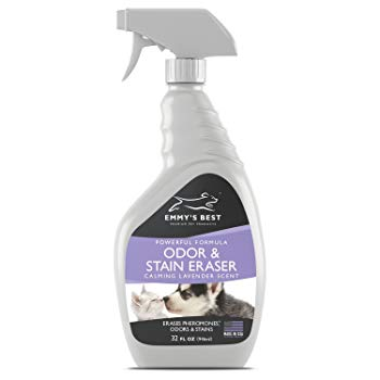 Emmy's Best Powerful Pet Odor Remover & Urine Eliminator Exclusive Enzyme Cleaner Takes Out Tough Stains, Odors