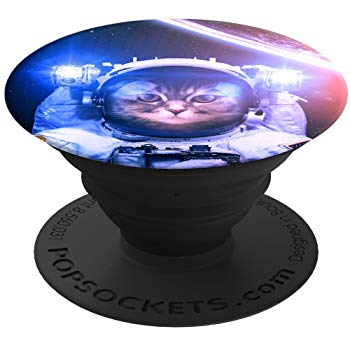 PopSockets: Collapsible Grip & Stand for Phones and Tablets - Catstronaut