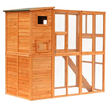 PawHut Wooden Outdoor Cat Enclosure Review