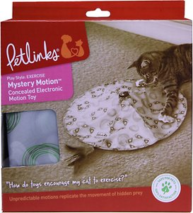 Petlinks Mystery Motion Concealed Electronic Motion Cat Toy