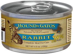 Hound & Gatos Rabbit Formula Grain-Free Canned Cat Food