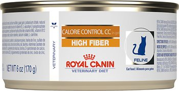 Royal Canin Veterinary Diet Calorie Control CC High Fiber Formula Canned Cat Food