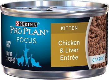 Purina Pro Plan Focus Kitten Classic Chicken & Liver Entree Canned Cat Food
