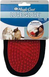 Four Paws Magic Coat Love Glove Grooming Mitt