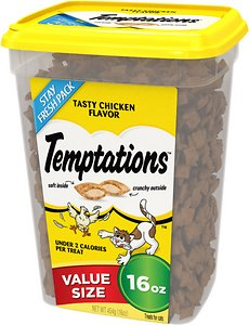 Save up to 50% on cat treats.