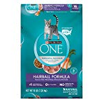 Purina ONE Hairball Formula Adult Dry Cat Food small