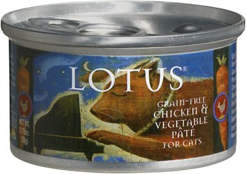 Lotus Chicken & Vegetable Pate Grain-Free Canned Cat Food