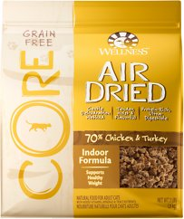 Wellness CORE Air Dried Natural Grain-Free Indoor Recipe Dry Cat Food