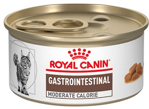 Royal Canin Veterinary Diet Gastrointestinal Moderate Calorie Canned Cat Food