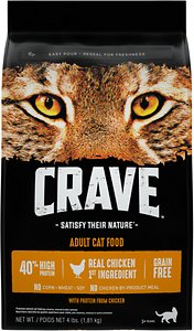 Crave with Protein from Chicken Adult Grain-Free Dry Cat Food