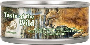 Taste of the Wild Rocky Mountain Grain-Free Canned Cat Food