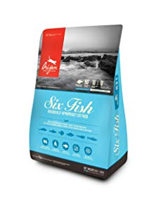 Orijen 6 Fish for Cats 4 Pounds