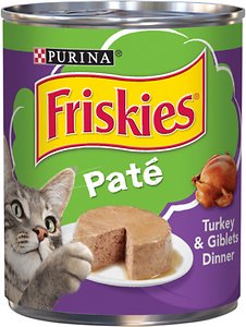 Friskies Classic Paté Turkey & Giblets Dinner