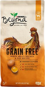 Purina Beyond White Meat Chicken & Egg Recipe Grain-Free Dry Cat Food