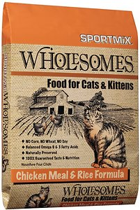 SportMix Wholesomes Chicken Meal & Rice Formula