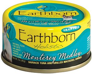Earthborn Holistic Monterey Medley Grain-Free Natural Canned Cat & Kitten Food