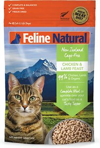 Feline Natural Chicken & Lamb Feast Grain-Free Freeze-Dried Cat Food
