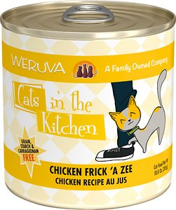 Weruva Cats in the Kitchen Chicken Frick 'A Zee Aus Jus