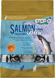 Addiction Grain-Free Salmon Bleu Dry Cat Food