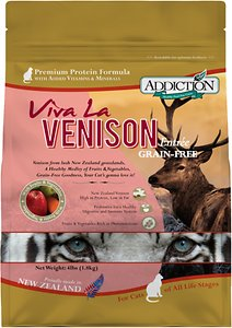 Addiction Grain-Free Viva La Venison Dry Cat Food