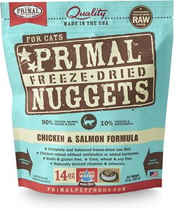 Primal Chicken & Salmon Formula Freeze-Dried Cat Food