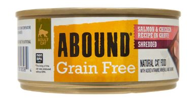 Abound Grain Free Shredded Salmon & Chicken Recipe in Gravy Review