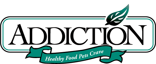 addiction cat food logo