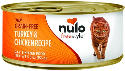 ulo Freestyle Turkey & Chicken Recipe Grain-Free Canned Cat & Kitten Food