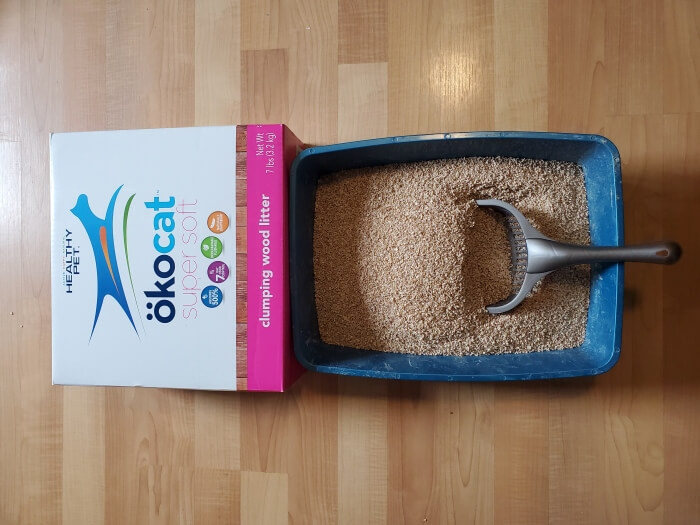 Ökocat Super Soft Clumping Wood Cat Litter