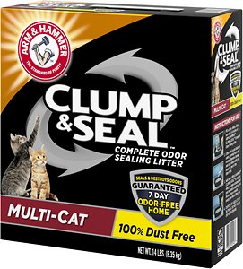 Arm & Hammer Clump & Seal Multi-Cat Formula Cat Litter