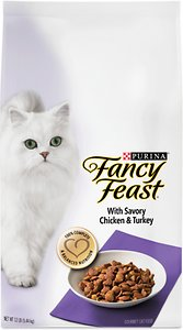 Fancy Feast Gourmet with Savory Chicken & Turkey Dry Cat Food