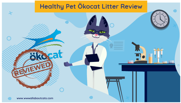 Healthy Pet Ökocat cat litter
