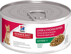 Hill's Science Diet Liver & Chicken Kitten Food