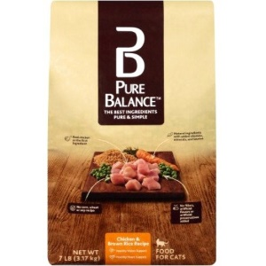 Pure Balance Chicken & Brown Rice Dry Cat Food