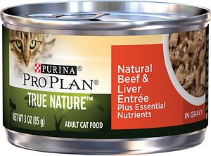 Purina Pro Plan True Nature Natural Beef & Liver Entree in Gravy