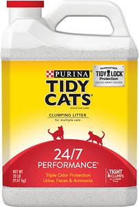 Tidy Cats 24-7 Performance Continuous Odor Control Cat Litter