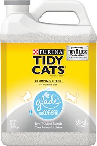 Tidy Cats Glade Tough Odor Solutions Clumping Cat Litter