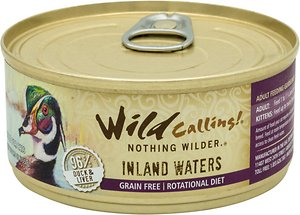 Wild Calling Inland Waters Duck Recipe Grain-Free Adult Canned Cat Food
