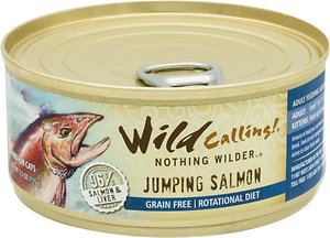 Wild Calling Jumping Salmon 96% Salmon Grain-Free Adult Canned Cat Food