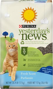 Yesterday's News Softer Texture Fresh Scent Cat Litter